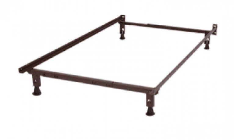 4 Legged Metal Bed Frame